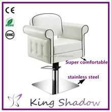 Kingshadow barato sillas de barbero silla para salehair sillas de salón para diseño de la venta equipo
