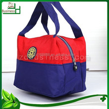 office promotional canvas ladies fashion lunch bags