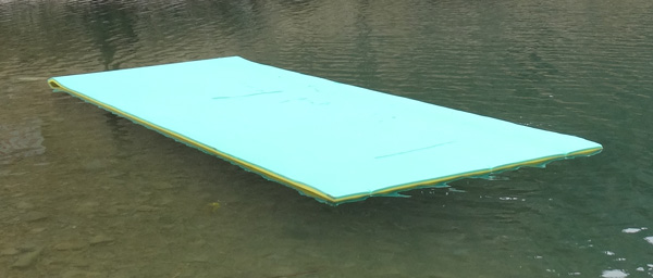 Water Mats For Sunbathing On Holiday Water Pad Party Float