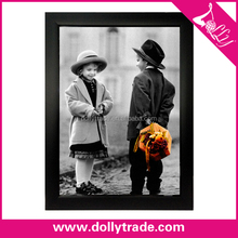 decorative wall hanging beautiful girl and boy love picture painting canvas