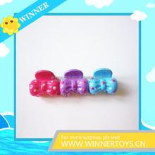 Mini hair claw clip for kids