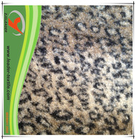 Wool double knit fabric