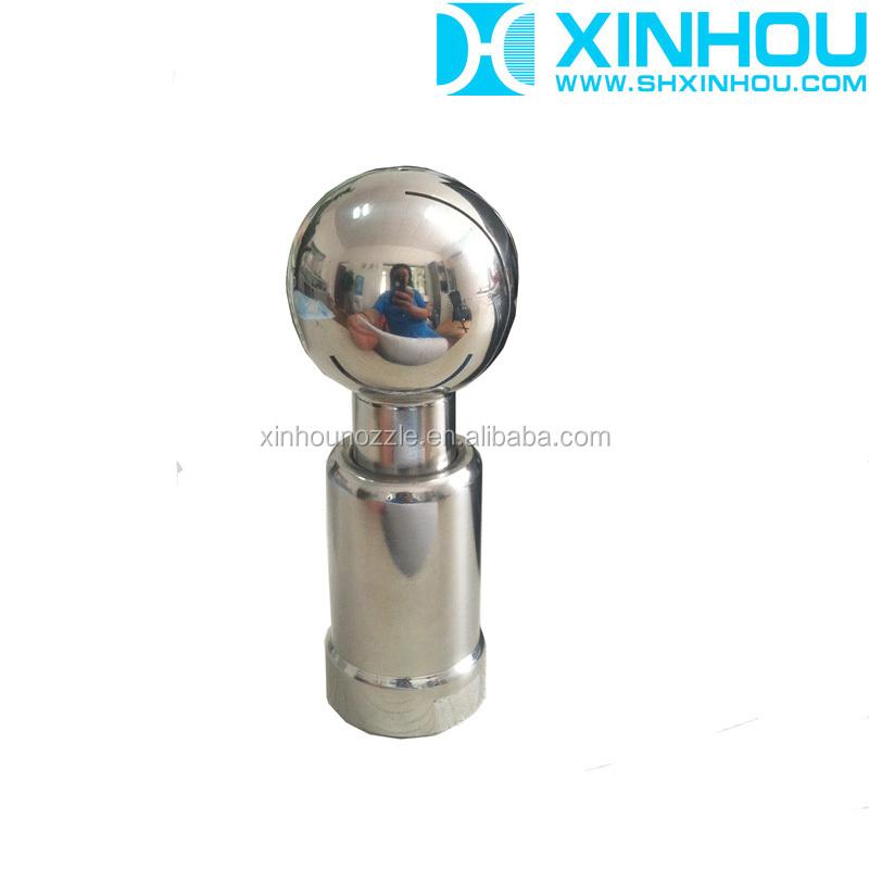 Stainless steel bottle tank washing rotating water spray