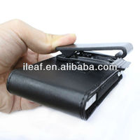 Hot selling Outdoor Leather Holster Pouch Case+Belt Clip for Samsung Galaxy Note 2 II N7100