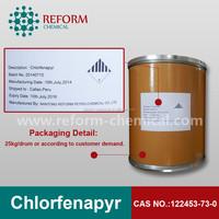 pesticide chlorfenapyr+lambda-cyhalothrin 10%+2.5% SC