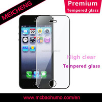 0.26mm front Tempered glass For iPhone 5S / 5C / 5 Screen Protector Phone Protective film
