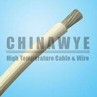 VDE Fiberglass Silicone Rubber House Wiring 2.5mm2 Cable