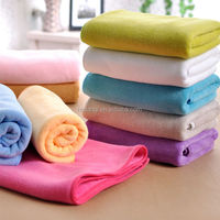 High absorbent easy wash quick dry 80 polyester 20 polyamide microfiber towel