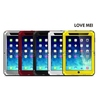 LOVE MEI Waterproof Shockproof Powerful Metal+Aluminium+Gorilla Glass Hybrid Case for iPad Mini / 2/3