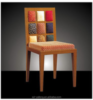 Stackable Steel Hotel Strong Wood Imitation Wholesale Chair