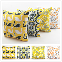 Decorative, Sofa Vintage Retro Linen Cotton Canvas Custom Photo Print cushion Cover Throw Elegant Pillow Case HT-PCPC-B-13-16