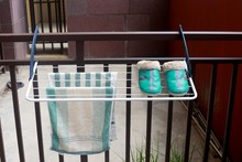 2015 new balcony clothes drying rack