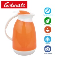 1000ml Plastic vaccum coffee jug with glass refill