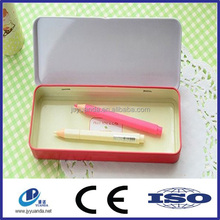 Direcrt factory sale tin can pencil cases for packaging
