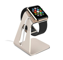 2015 New Products in China Aluminum Phone Holder for Apple Watch Charging Stand