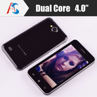 China Hot sale cheap 4 inch touch screen andorid cell smart mobile phone mtk6572 dual core dual sim 3G bluetooth