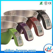 EK6550 digital electronic stainless steel measuring cup scale for kitchen