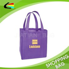 Customized Logo Design Non-Woven Wine Bottle Bag Shopping Bag