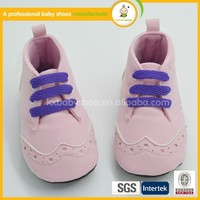 Latest shoes design 2015 hot sale new fashion hand high quality suede baby leather shoes