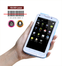 Cilico rugged smartphone Android pos terminal with barcode scanner, screen barcode reader available