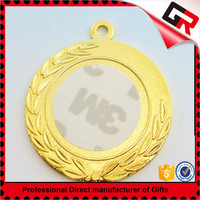 Wholesale promotional products back sand point metal blank frame award medal