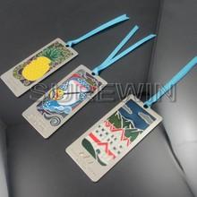 Stampa logo diverso metallo segnalibro/custom segnalibro in metallo per scuola discorso attività