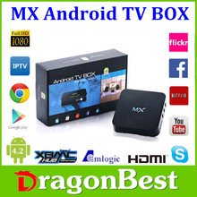 hd Google Android 4.2 TV box Amlogic 8726-MX Dual core 1.5GHz 1GB RAM 8GB ROM Support XMBC,Netflix,Youtube android tv box