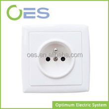 European 2P+T Electric Wall Socket 16A 250V With Ground