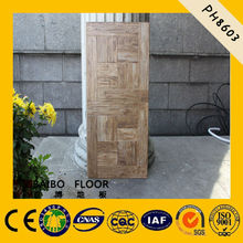 red oak high quality laminate parquet flooring