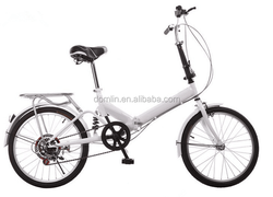 steel material 20 inch 6 speed folded bike for sale