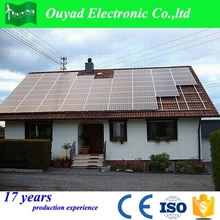 ground and roof solar power mounting system solar panel installation