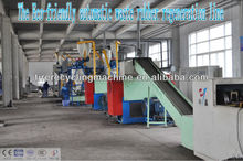 Renewable scrap tire recycle nylon fiber selecting machine -Rubber recycling equipment- wasted tire ecycling plant