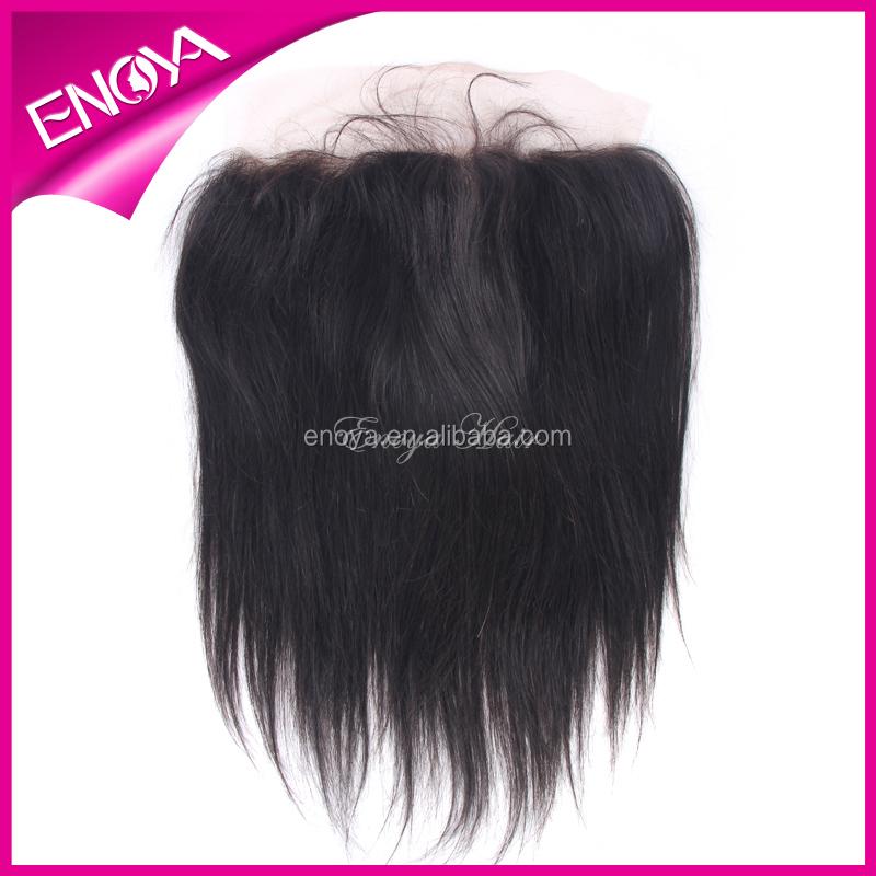 Natural Color Free Part Malaysian Virgin Hair Ear To Ear