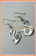 Duck Pandant fashion Earring jewelry accessory