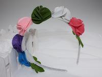Beautiful girl's flower hair band