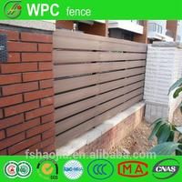 plastic lawn edging fence WPC wall panel