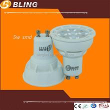 best selling product in America most powerful smd gu10 led, 5w led gu10 bulb, 480 lumen led gu10