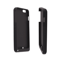5000 Mah Power Case External Battery Backup Power Case Charger Cover Pack Power Bank Battery Case Black For iPhone 6 Plus 5.5