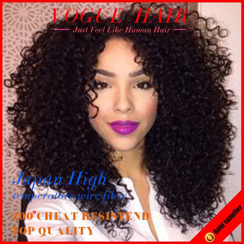 Afro Kinky Synthetic Wigs 10