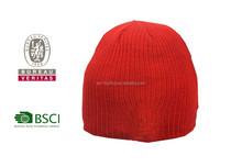 BSCI acrylic women's long hat/beanie