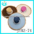 promoción de colores de paja mexicano sombreros para damas