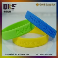 Personalized silicone hand band,bracelet silicone watch band