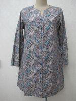 long style front open ladies punjabi kurtis