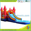 2015 GMIF5201 Outdoor playground cheap inflatable water slides