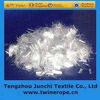tenacity virgin 100% polypropylene monofilament fiber for road paving