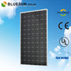 BlueSun chinese factory direcy sale 100% tuv ce iso qualified 300w mono silicon high watt power solar panel