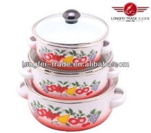 2014 hot sale casserole pot,cast iron pot