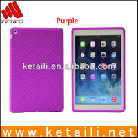Fashion colorful silicone case for ipad air welcome customized