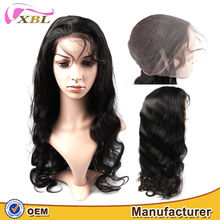 XBL no mix fashionable different styles wholesale price high quality Brazilian human hair full lace wig