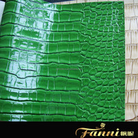 pvc glitter leather/bags leather/synthetic leather pu pvc leather